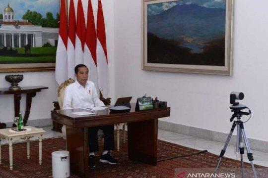 Presiden Jokowi minta 10 negara tertinggi COVID-19 diumumkan ke publik