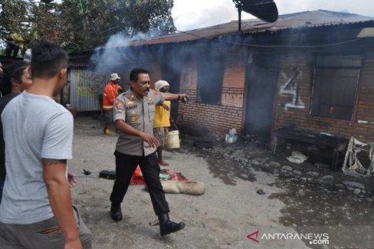 Enam unit indekos di Wamena Jayawijaya ludes terbakar