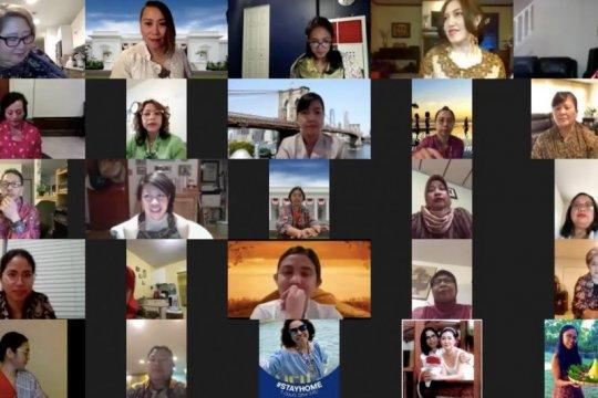 WNI di AS saling dukung lewat aktivitas virtual selama pandemi corona