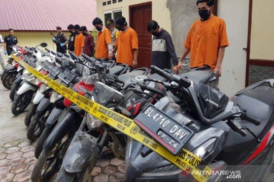 Polres Jayawijaya kembalikan 71 motor curian selama Januari-April 2020