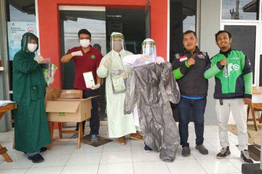 Gojek Soloraya lakukan gerakan sejuta masker