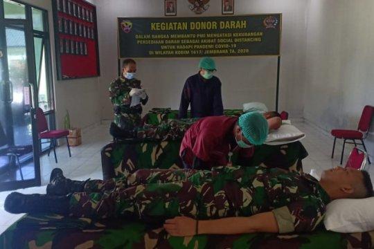 TNI sumbang 139 kantong darah, cegah kekurangan stok darah saat Corona