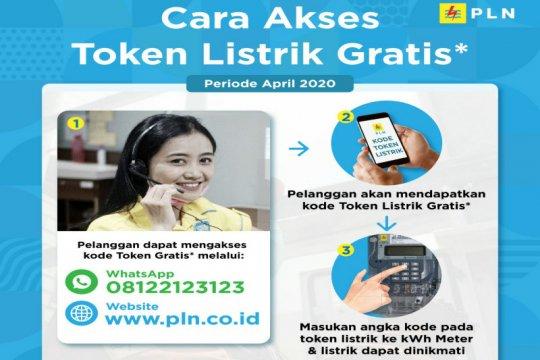 Masyarakat bisa klaim token gratis PLN hari ini