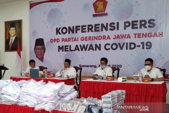 Kader Gerindra Jateng diinstruksikan bantu pemerintah tangani COVID-19