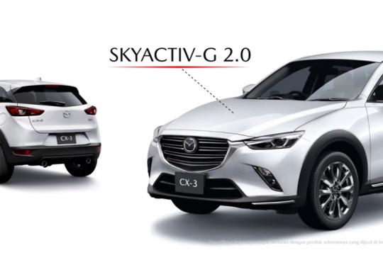 """New Mazda CX-3 punya dua tipe """"facelift"""""""