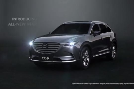 Eurokars Indonesia rilis Mazda All-New CX-9 versi AWD