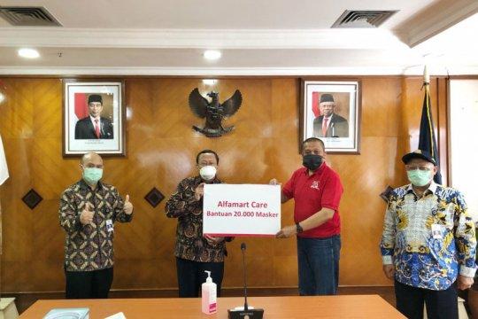 Kemenhub terima bantuan masker dan disinfektan dari Alfamart