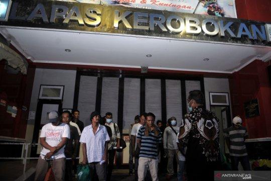 Pembebasan warga binaan Lapas Kerobokan Bali