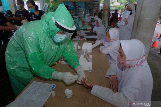 Test cepat santri yang dipulangkan ke Bali