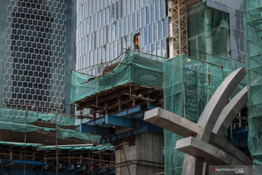 Bank Mandiri proyeksikan ekonomi RI kuartal II terkontraksi 3,4 persen