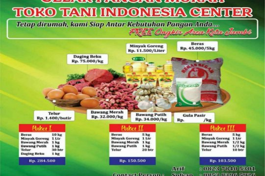 Pemkab Kepulauan Seribu jual pangan murah di Pulau Tidung