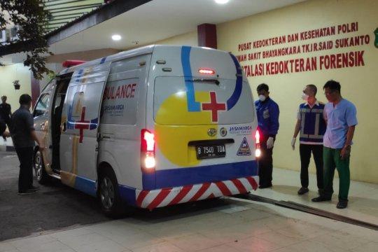 RS Polri antarkan jenazah Wakil Jaksa Agung Arminsyah ke rumah duka