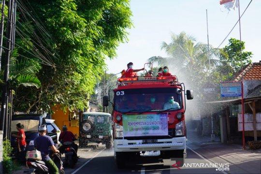 ITDC lakukan penyemprotan disinfektan di desa penyangga The Nusa Dua