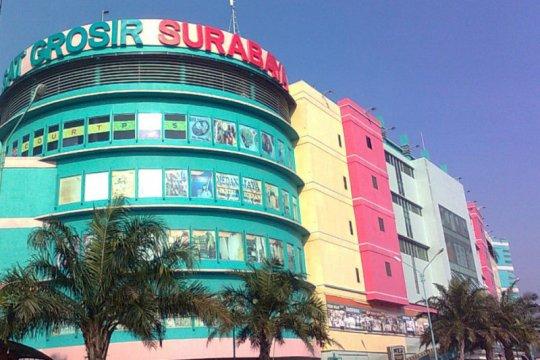 Gedung Pusat Grosir Surabaya ditutup dampak COVID-19