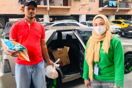 Relawan COVID-19 KAHMI Malaysia salurkan bantuan ke TKI