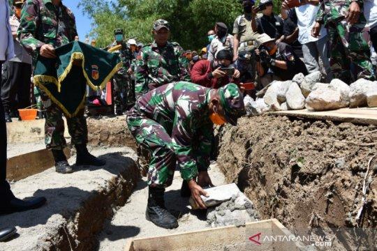 Markas Komando Kodim mulai dibangun di Kabupaten Boalemo