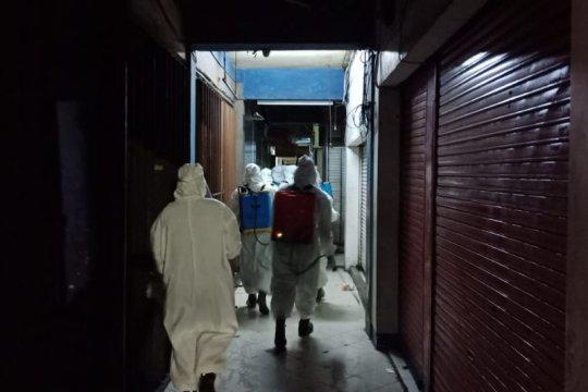 Ada yang kena Corona, pasar grosir pakaian di Surabaya ditutup 14 hari
