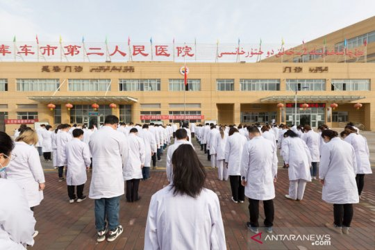 Lima penduduk lokal Xinjiang positif COVID-19