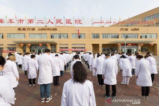 China konfirmasi 14 kasus baru corona, termasuk 9 di Xinjiang