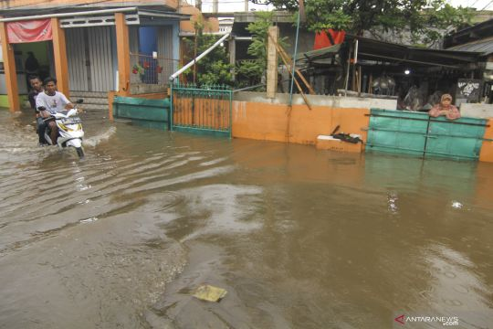 Banjir di kawasan Depok