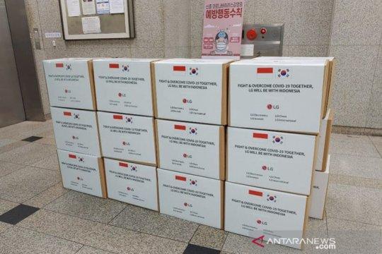Minggu, 50.000 alat tes COVID-19 donasi perusahaan Korsel tiba