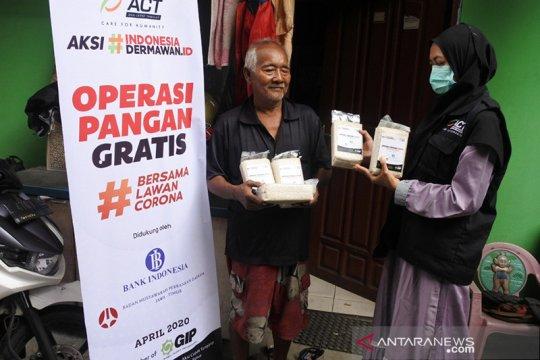 ACT Jatim bantu pangan gratis warga terdampak COVID-19