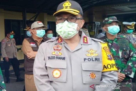 Kapolda Kalimantan Selatan minta jangan pulang kampung cegah Covid-19