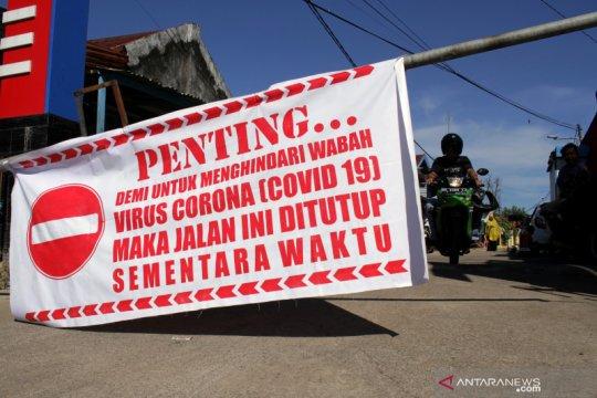 Karantina wilayah secara mandiri di Makassar