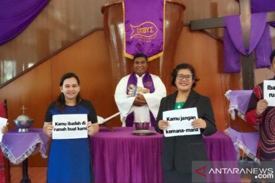 Cegah COVID-19, GPIB Immanuel Tanjung Pandan gelar ibadah daring