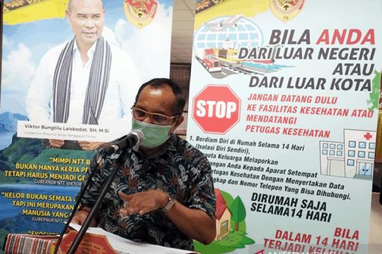 Cegah corona, Gubernur NTT dorong kepolisian tegakkan Maklumat Kapolri
