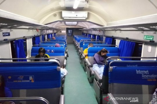 PT KAI Sumut batasi kapasitas penumpang hanya 50 persen