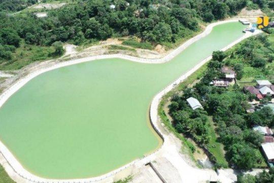 Pemerintah rampungkan pembangunan Embung Rawasari di Kalimantan Utara