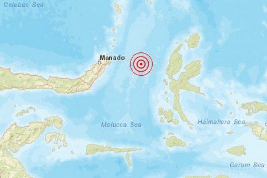 Barat laut Jailolo-Malut diguncang gempa tektonik magnitudo 6,1