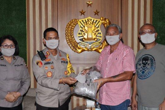 Polresta Denpasar terima bantuan 1.596 masker dari klub otomotif