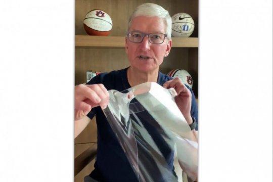 Apple buat pelindung wajah untuk pekerja medis
