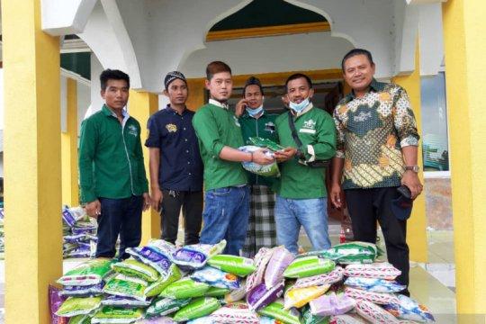 NU Malaysia distribusi bahan makanan ke PMI