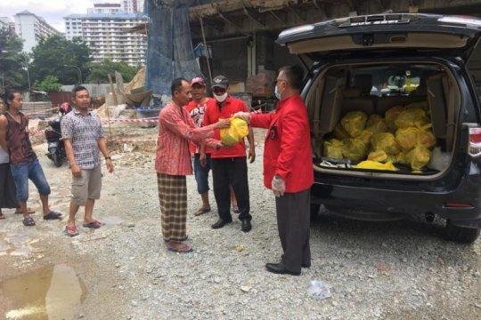 PDIP Malaysia bantu makanan TKI terdampak COVID-19