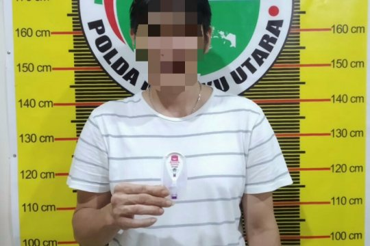 Polda Malut menangkap lima pelaku penyalahgunaan narkoba