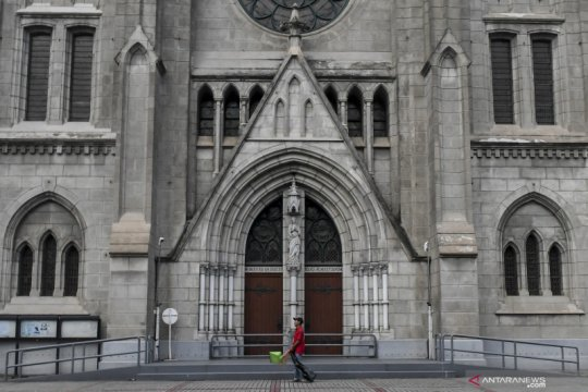 Gereja Katolik di Jakarta belum buka minggu ini