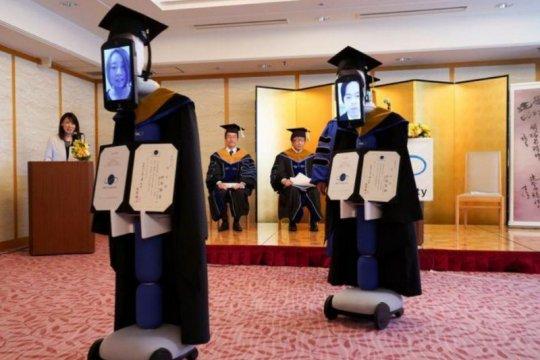 Pandemi corona, robot gantikan siswa Jepang saat kelulusan