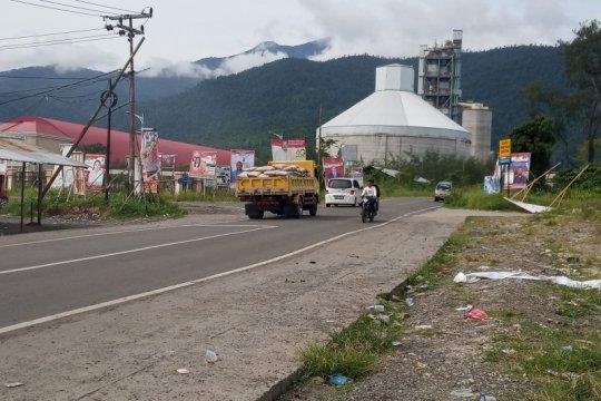 Lakalantas di Papua Barat cenderung menurun