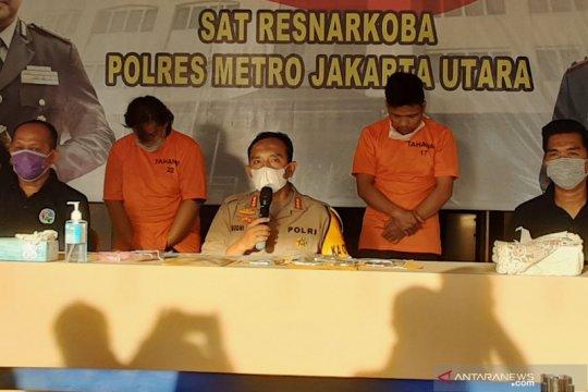 Polisi tembak mati kurir narkotika di Jakarta Utara
