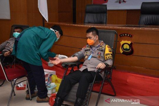 Kapolri terbitkan surat telegram ajak anggotanya donor darah