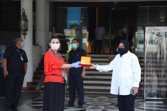 REI Jatim sumbang 6 ton beras ke dapur umum Surabaya