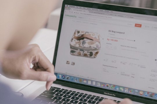 """Jumlah kunjungan """"e-commerce"""" lokal lebih tinggi dari internasional"""