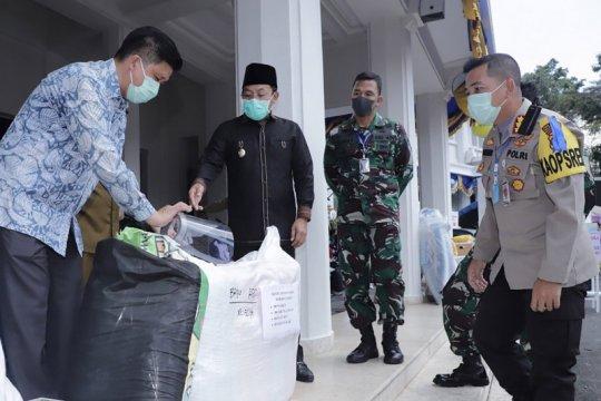 Kota Malang terima bantuan alat kesehatan untuk tanggulangi COVID-19
