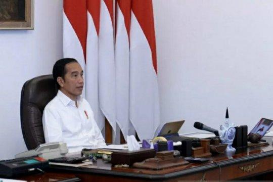 Presiden Jokowi: Pemberian bansos agar warga tidak mudik