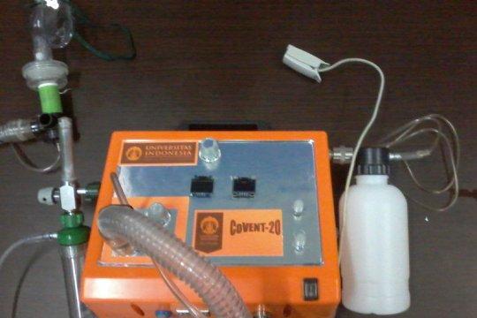 UI siapkan ventilator transport lokal rendah biaya