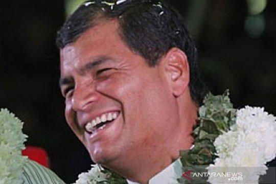 Mantan presiden Ekuador Rafael Correa divonis 8 tahun penjara