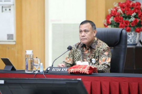 KPK beri arahan kepala daerah cegah korupsi penanganan COVID-19